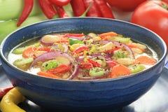 Bean soup. royalty free stock photo