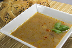 Bean soup Royalty Free Stock Image