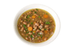 Bean soup, harikot soup Stock Photography