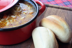 Bean soup. Royalty Free Stock Images