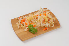 Bean sprouts salad Stock Image