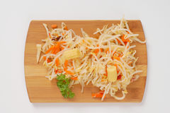 Bean sprouts salad Stock Images