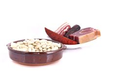 Bean stew. Stock Image