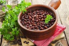 Bean stew Stock Photography