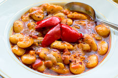 Bean stew Stock Photography