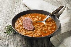 Bean stew stock photo