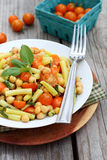 Bean and Tomato Salad Stock Images