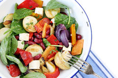 Bean and Vegetable Salad Royalty Free Stock Images