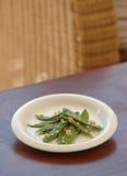 bean zielony stół Zdjęcie Stock