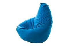 Beanbag di Seat isolato su fondo bianco Fotografie Stock