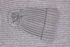 Beanie de lã Imagem de Stock Royalty Free