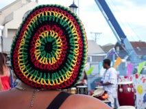 Beanie de Rastafarian imagens de stock royalty free