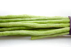 Beans. Long beans produced in China Stock Photo