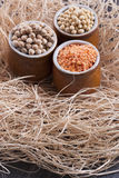 Beans aand Seeds Royalty Free Stock Photo