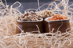 Beans aand Seeds Stock Images