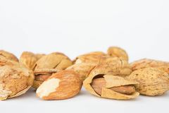 Beans, almonds The delicious taste And healthy. Beans, almonds is delicious taste And healthy Royalty Free Stock Photo