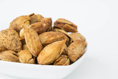 The Beans, almonds The delicious taste And healthy. Beans, almonds The delicious taste And healthy Stock Photos