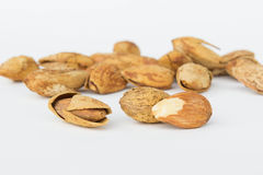 The Beans, almonds The delicious taste And healthy. Beans, almonds The delicious taste And healthy Stock Image