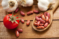 Beans And Fresh Vegetables Royalty Free Stock Image