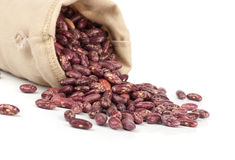 Beans in the bag Royalty Free Stock Photography