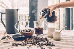 Beans, Beverage, Black Stock Photography