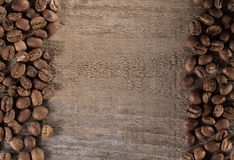 Beans black coffee, ready to brew delicious coffee Royalty Free Stock Photography