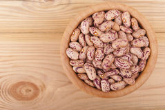 Beans in a bowl. Royalty Free Stock Photos