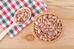 Beans in a bowl. Royalty Free Stock Images