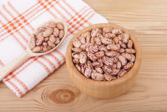 Beans in a bowl. Royalty Free Stock Photo