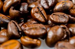 Beans of coffee Stock Photos