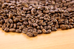 Beans of  coffee drink details shot Royalty Free Stock Image