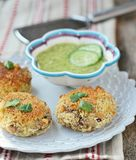 Beans croquette Stock Images