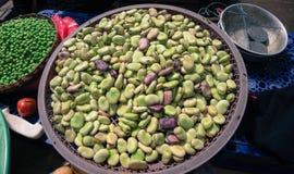 Beans Fava fresh Stock Images