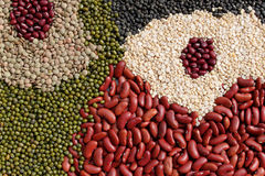 Beans, legumes assortment Stock Photo