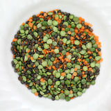 Beans and lentils Stock Image