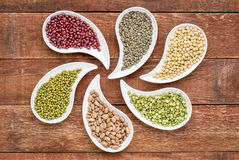 Free Beans, Lentils And Pea Abstract Stock Images - 51977434