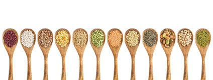 Free Beans, Lentils And Pea Collection Royalty Free Stock Images - 50581969