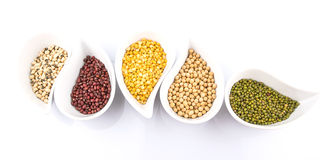 Beans and Lentils Variety I Stock Photo