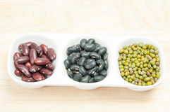 Beans and lentils Royalty Free Stock Photo