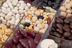 Beans in macro Stock Photos
