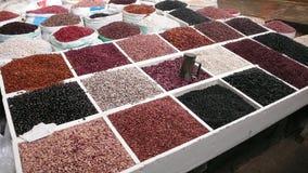 Beans. Market. San Cristobal de las Casas Stock Photo