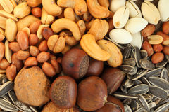 Beans mixes. Close-up beans mixes background Royalty Free Stock Photography