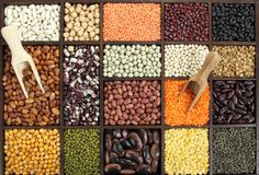Beans, peas, lentils Royalty Free Stock Photo