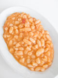 Beans plate. Stock Photos