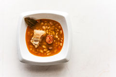 Beans with pork Stock Images