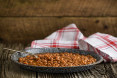Beans and Pork Stock Images