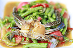 Beans remain salad of somtum in Thai food. Beans remain salad of somtum in Thai food and spicy Stock Image