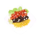 Beans salad. Royalty Free Stock Images