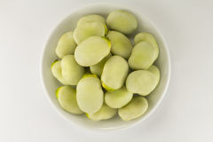 Beans on a saucer Stock Photography