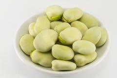 Beans on a saucer Stock Photos